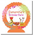 Pottery Painting - Personalized Birthday Party Centerpiece Stand thumbnail