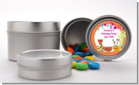 Pottery Painting - Custom Birthday Party Favor Tins