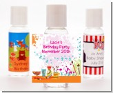 Pottery Painting - Personalized Birthday Party Hand Sanitizers Favors
