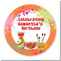 Pottery Painting - Personalized Birthday Party Table Confetti