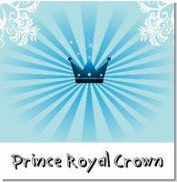 Prince Royal Crown Birthday Party Theme