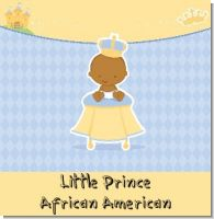 Little Prince African American Baby Shower Theme