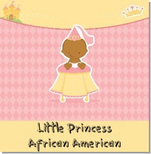Little Princess African American Baby Shower Theme