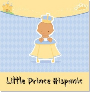 Little Prince Hispanic Baby Shower Theme