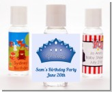 Prince Crown - Personalized Birthday Party Hand Sanitizers Favors