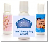 Prince Crown - Personalized Birthday Party Lotion Favors