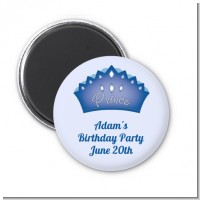 Prince Crown - Personalized Baby Shower Magnet Favors