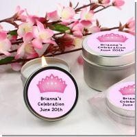Princess Crown - Birthday Party Candle Favors