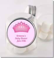 Princess Crown - Personalized Birthday Party Candy Jar