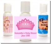 Princess Crown - Personalized Birthday Party Lotion Favors