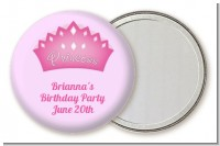 Princess Crown - Personalized Birthday Party Pocket Mirror Favors