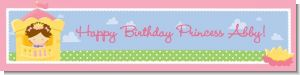 Princess in Tower - Personalized Birthday Party Banners