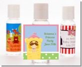 Princess in Tower - Personalized Birthday Party Hand Sanitizers Favors