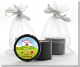 Princess Rolling Hills - Birthday Party Black Candle Tin Favors