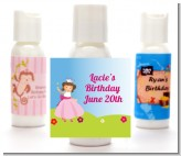 Princess Rolling Hills - Personalized Birthday Party Lotion Favors