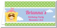 Princess in Tower - Personalized Birthday Party Place Cards