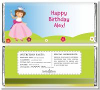 Princess Rolling Hills - Personalized Birthday Party Candy Bar Wrappers