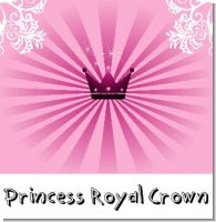 Princess Royal Crown Baby Shower Theme