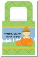 Pumpkin Baby Asian - Personalized Baby Shower Favor Boxes