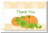 Pumpkin Trio Fall Theme - Thanksgiving Thank You Cards