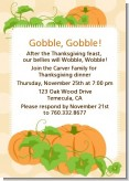 Pumpkin Trio Fall Theme - Thanksgiving Invitations