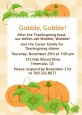 Pumpkin Trio Fall Theme - Thanksgiving Invitations thumbnail