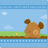 Puppy Dog Tails Boy Baby Shower Theme