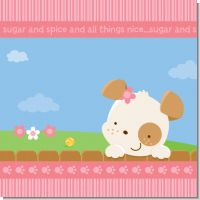 Puppy Dog Tails Girl Baby Shower Theme