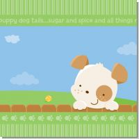 Puppy Dog Tails Neutral Baby Shower Theme