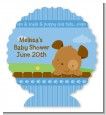Puppy Dog Tails Boy - Personalized Baby Shower Centerpieces thumbnail