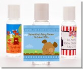 Puppy Dog Tails Boy - Personalized Baby Shower Hand Sanitizers Favors