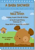 Puppy Dog Tails Boy - Baby Shower Invitations