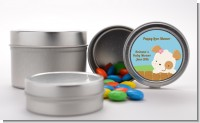 Puppy Dog Tails Girl - Custom Baby Shower Favor Tins