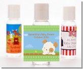 Puppy Dog Tails Neutral - Personalized Baby Shower Hand Sanitizers Favors