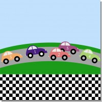 Race Car Birthday Party Theme