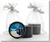 Racquetball - Birthday Party Black Candle Tin Favors