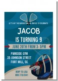 Racquetball - Birthday Party Petite Invitations