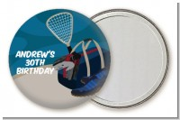 Racquetball - Personalized Birthday Party Pocket Mirror Favors