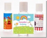 Rainbow Unicorn - Personalized Birthday Party Hand Sanitizers Favors