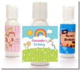 Rainbow Unicorn - Personalized Birthday Party Lotion Favors