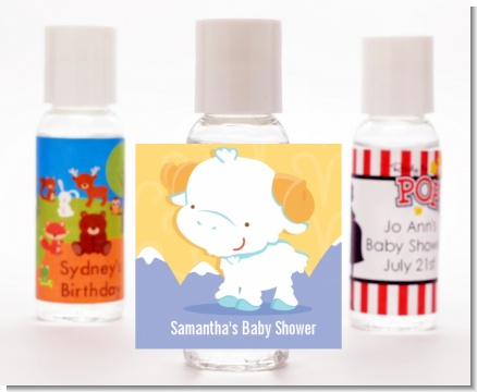 Ram | Aries Horoscope - Personalized Baby Shower Hand Sanitizers Favors