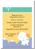 Ram | Aries Horoscope - Baby Shower Petite Invitations