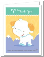 Ram | Aries Horoscope - Baby Shower Thank You Cards
