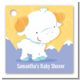 Ram | Aries Horoscope - Personalized Baby Shower Card Stock Favor Tags thumbnail