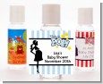 Ready To Pop Blue - Personalized Baby Shower Hand Sanitizers Favors thumbnail