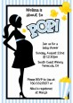 Ready To Pop Blue - Baby Shower Invitations thumbnail
