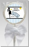 Ready To Pop Blue - Personalized Baby Shower Lollipop Favors