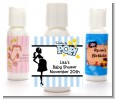 Ready To Pop Blue - Personalized Baby Shower Lotion Favors thumbnail