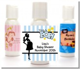 Ready To Pop Blue - Personalized Baby Shower Lotion Favors