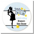Ready To Pop Blue - Personalized Baby Shower Table Confetti thumbnail